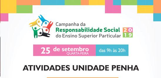 CAMPANHA DA RESPONSABILIDADE SOCIAL – UNIDADE PENHA