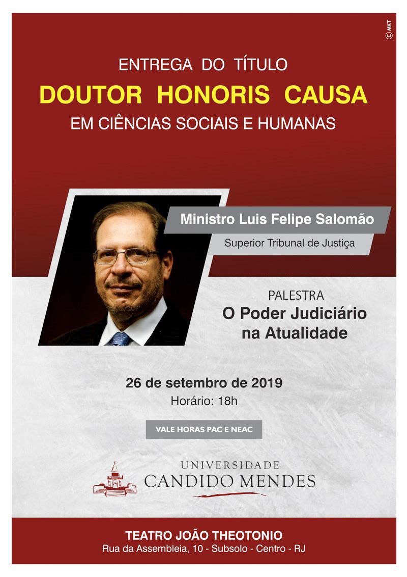 TÍTULO DOUTOR HONORIS CAUSA