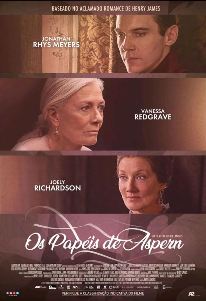 OS PAPÉIS DE ASPERN – PRÉ-ESTREIA