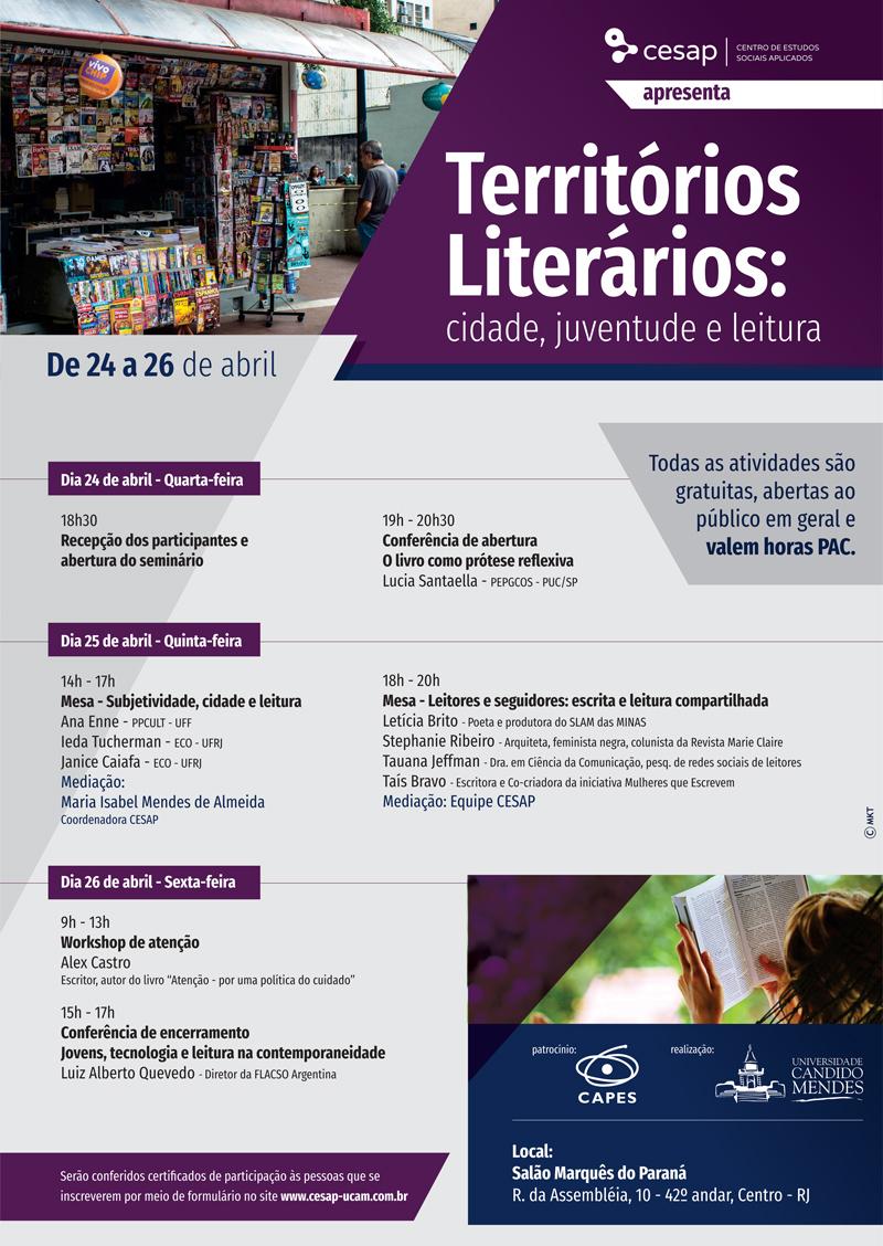 Territórios Literários: cidade, juventude e leitura