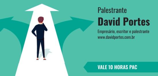 PALESTRA CARREIRA COM DAVID PORTES
